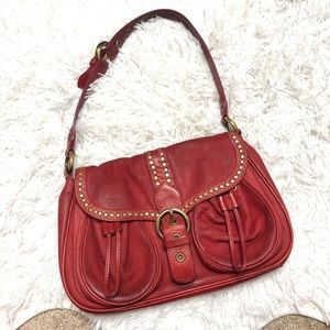 Moschino Cheap And Chic Leather Hobo Bag
